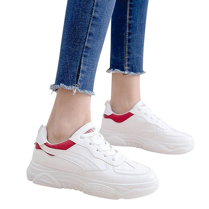 Running Scarpe Sneakers Da In Pizzo Corsa Donna Lanlan Con lK1FJTc