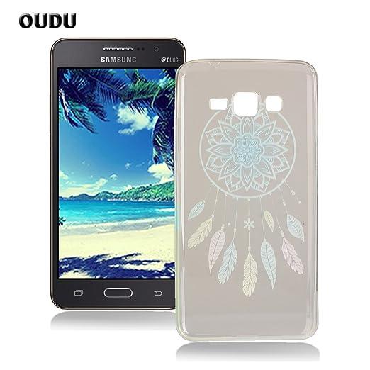 8 opinioni per OuDu Cover Samsung Galaxy Grand Prime G530 Custodia TPU Silicone Cassa Gomma