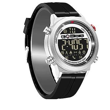 APJJ Estudiante Inteligente Reloj Viejo Hombre Teléfono Reloj WiFi De Dos Vías De Posicionamiento Cámara Reloj,Gray: Amazon.es: Electrónica