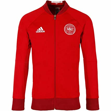 Amazon.com  adidas Mens Denmark Soccer Anthem Jacket - M  Sports ... 53cf72924