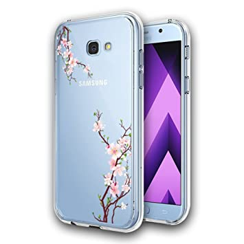 separation shoes 1a47b d3d5c AILRINNI Samsung A5 2017 Phone Case [Crystal Clear], Slim Soft Silicone Gel  Case [Drop Protection], Best Rubber Shockproof Bumper Protective Case ...