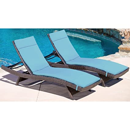 Amazon.com: Best Selling Home Decor Avalon Patio chaise ...