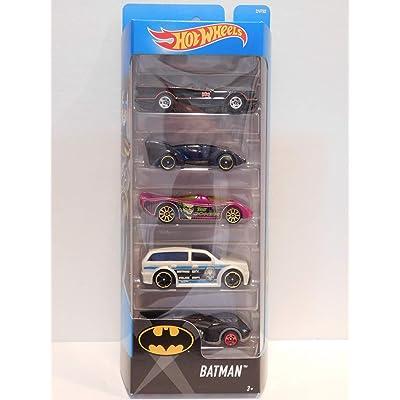 Hot Wheels 2020 Batman 5-Pack: Toys & Games