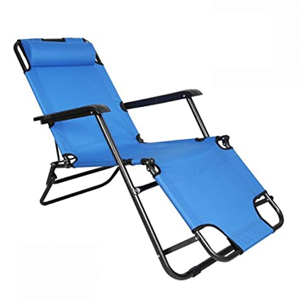 Amazon.com: Outdoor Folding Lounger Chair To Camping And ...