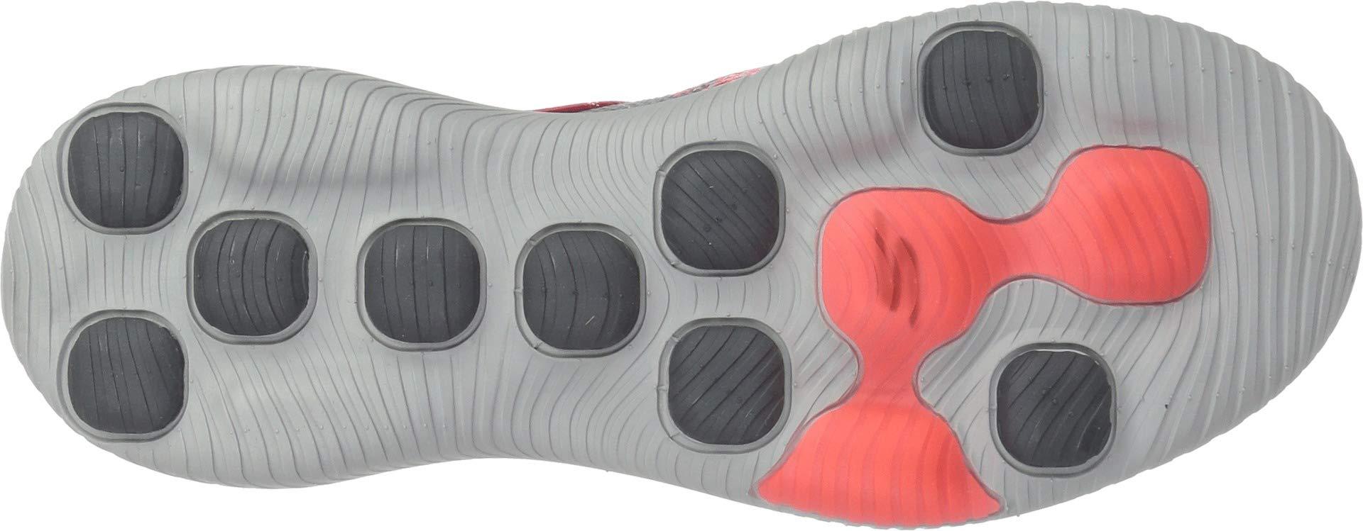 Skechers Performance Women's GO Walk Revolution Ultra-15669 Sneaker,Charcoal/hot Pink,8 M US by Skechers (Image #3)
