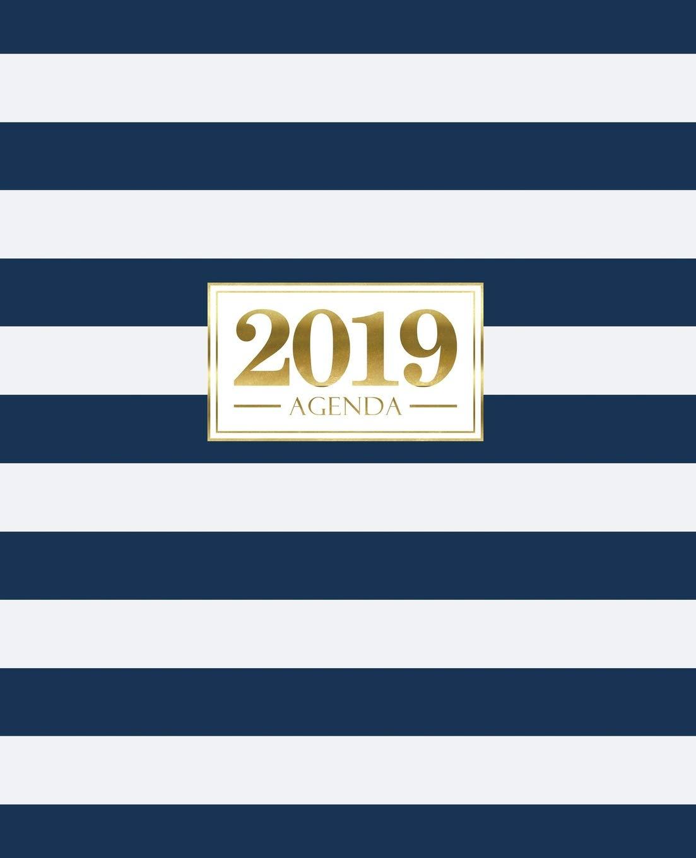Agenda 2019: 19x23cm : Agenda 2019 semainier français : bleu ...