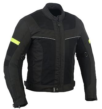 LOVO Chaqueta tricapa perforada de verano para moto (Hombre) (6XL): Amazon.es: Coche y moto