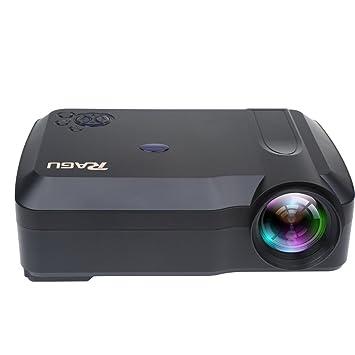 Proyector, Ragu RG-01 3000 lúmenes HD Proyector de Video soportan ...