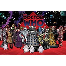 """Doctor Who Poster - Villains Compilation (36""""x24"""")"""