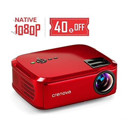 Amazon.com: Crenova - Proyector nativo de vídeo LED 1080p ...
