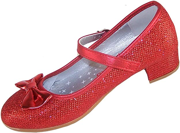 Girls' Red Sparkly Dress Occasion Party
