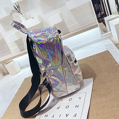 Jeunes A filles Pack Femmes à Femme voyage 2018 à Sac Back dos sacs dos Bling VHVCX Sac pour petits de coloré Shiny Laser 0qB8wgfx