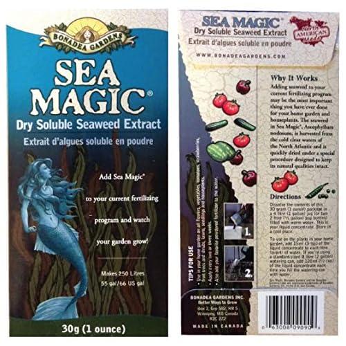 Organic Seaweed Fertilizer, 8 Ounces, Sea Magic