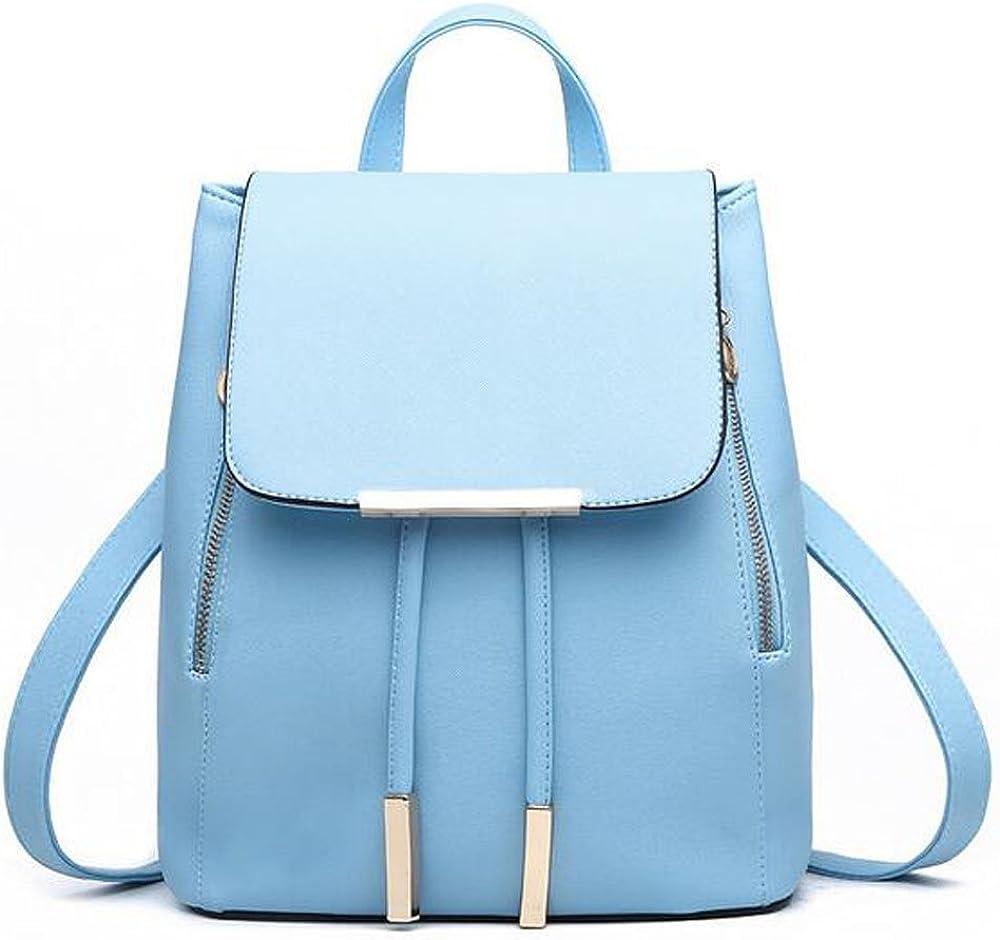 KINDOYO Girls Backpack Fashion Shoulder Bag Backpack PU Leather Travel bag
