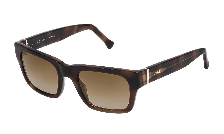 Loewe SLW967M52752G Gafas de sol, Shiny Brown Havana, 52 ...