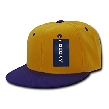 Decky 2 Tone Flat Bill Snap Back - Gorra para Hombre, Color, Talla ...