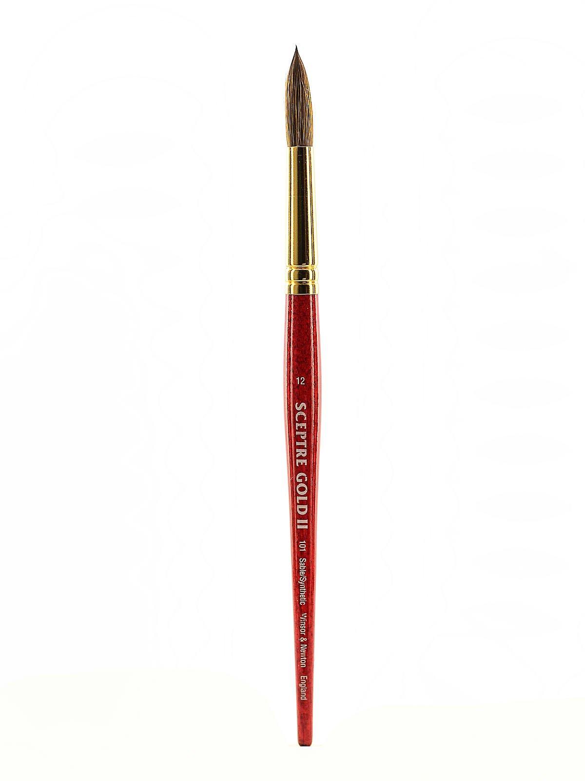 Winsor and Newton Sceptre Gold II Brush Round-Short