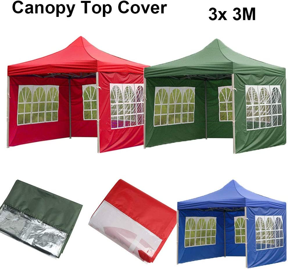 Canopy Cover Garden Shade Top Tent Surface Replacement Tents Gazebo Accessories