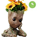 Baby Groot Flower Pot Planter Action Figures Toy Tree Man Flowerpot Guardians Of The Galaxy Planter Pot Groot Pen Pot Best Gifts