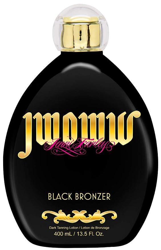 Jwoww Black Bronzer Dark Tanning Lotion 13.5 ounce