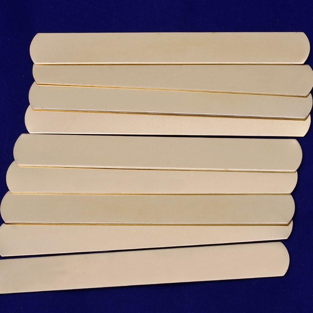 para joyas y pulseras DIY 5 unidades Etiquetas de tiras de 152 x 16 mm de Tibetara