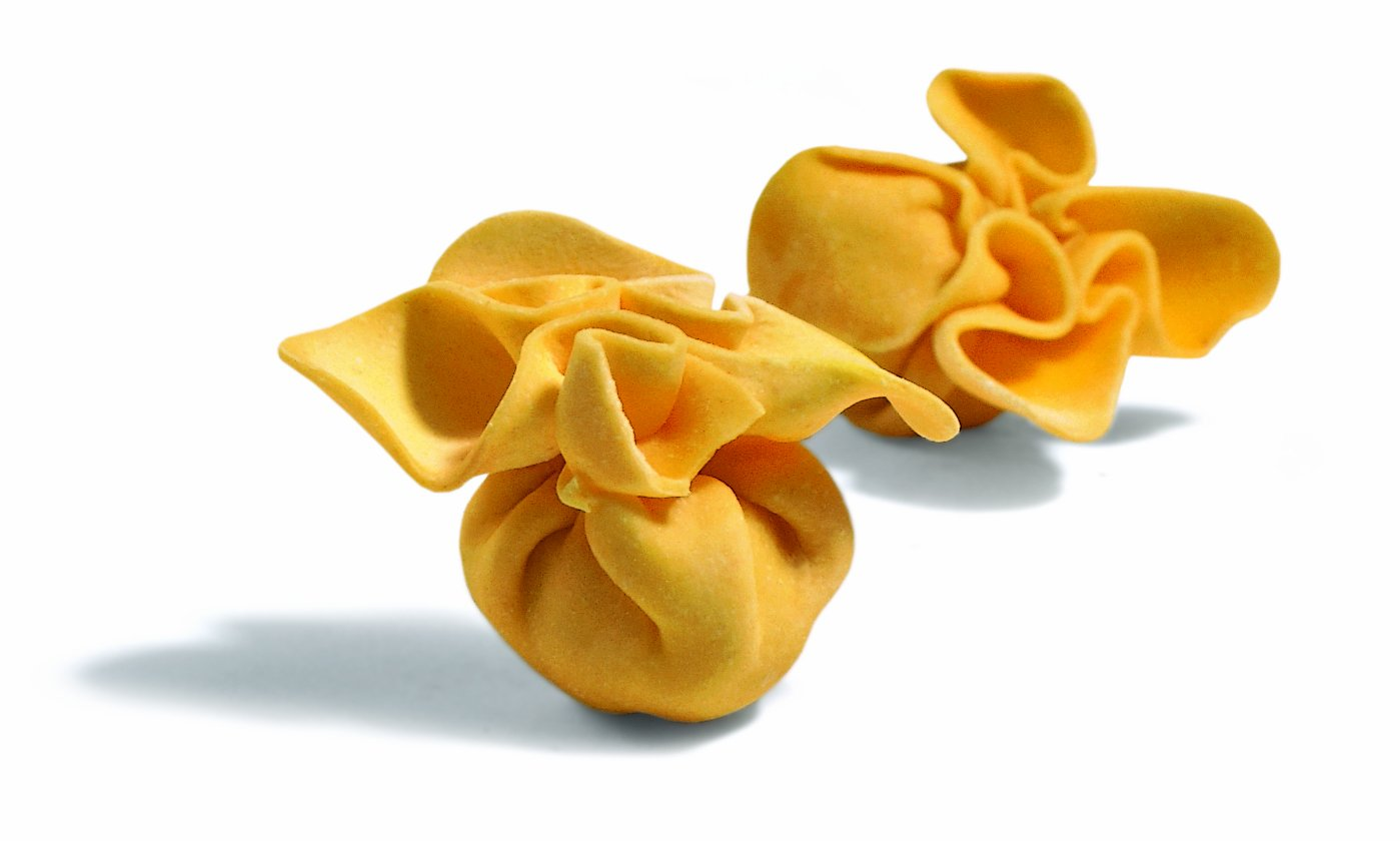 Ciao Imports Fiocchi (Purse) with 4 Cheese & Pear, 6.6-Pound Box by Laboratorio Tortellini Pastas