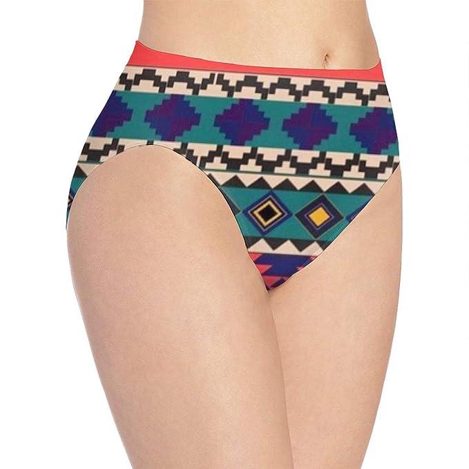 8e9b481bf891 Cute Women Basics Brief Panties, Sexy African Art Pattern Women's Underwear  Comfort Full Printed Panties
