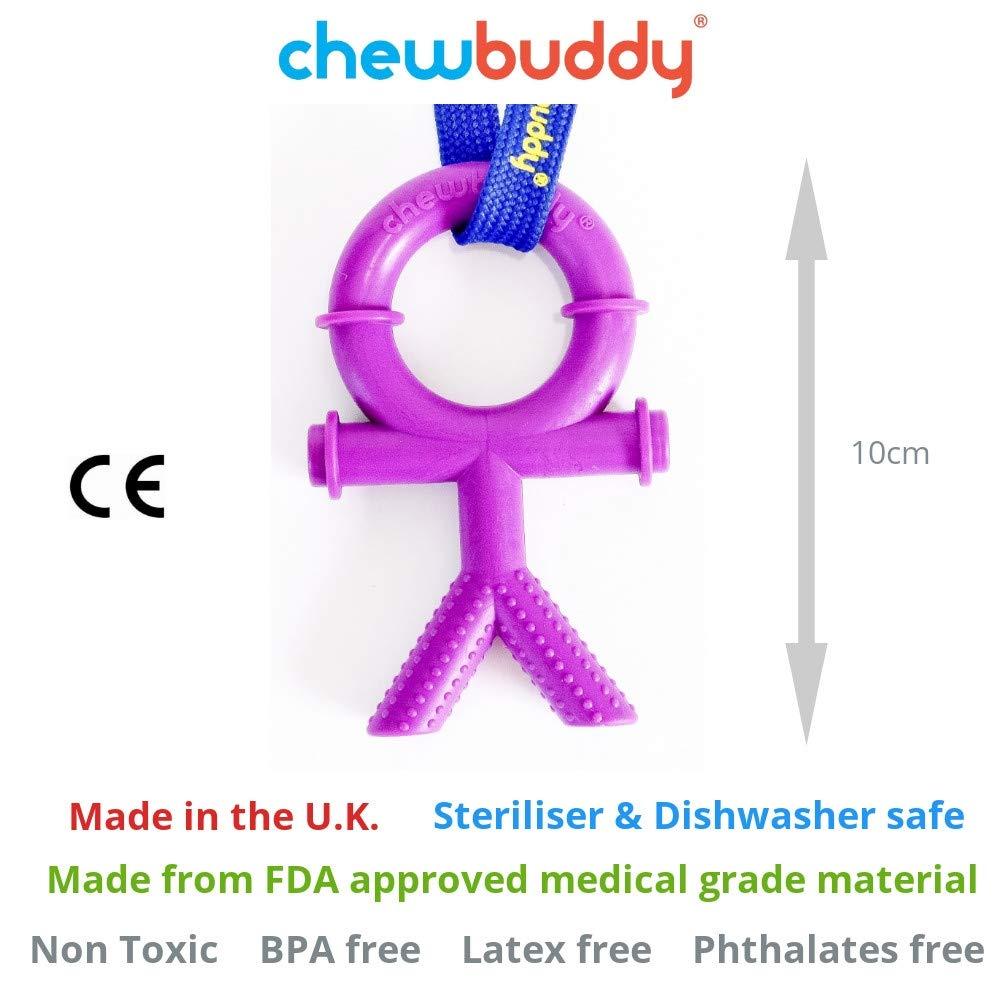 Violet/ Accessoire de dentition Chewbuddy Pour assouvir les/besoins de mordiller