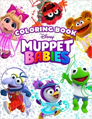 Muppet Babies Coloring Book: Great Activity Book for Kids: Steven ...