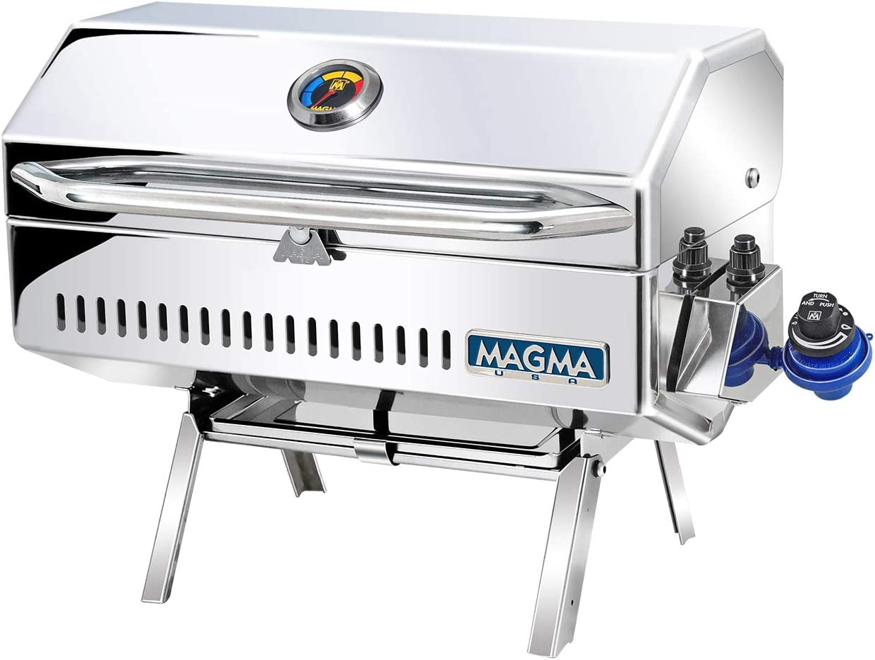 Magma Products Newport 2 Classic, Gourmet Series Gas Grill, Multi, One Size
