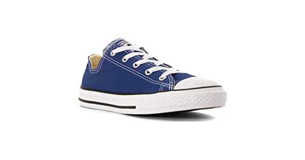 039558371478 Converse Boy s Kids  Chuck Taylor Low Top Sneaker Preschool Roadtrip Blue  2.5 M