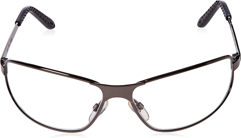 Uvex S2450 Tomcat Gafas de seguridad lente transparente de capa dura marco de color plomizo