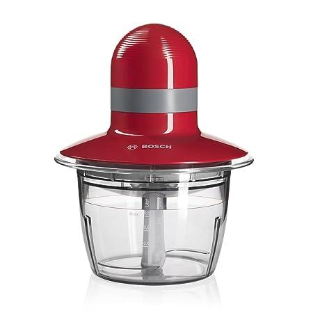 Bosch MMR08R2 - Picadora, 400 W, Capacidad 1.3 litros, color rojo ...