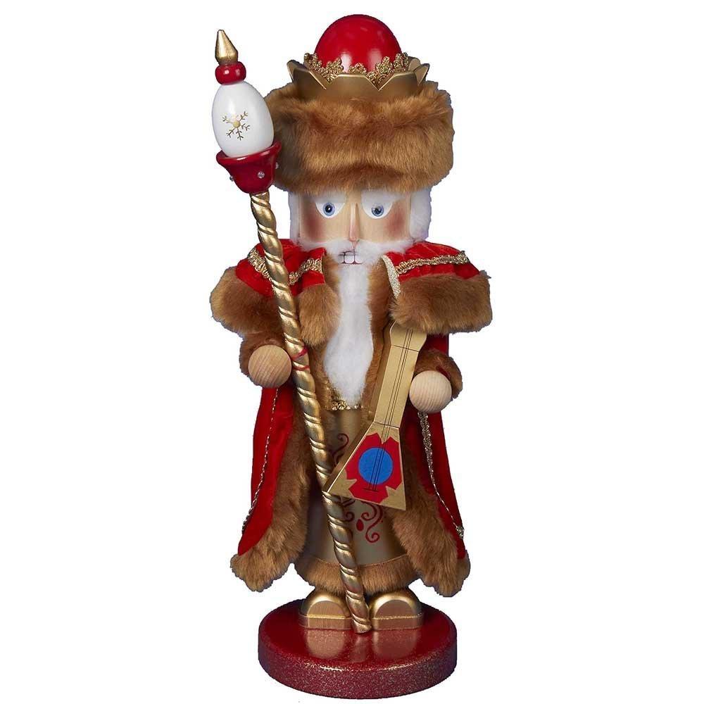 Kurt Adler Signed Steinbach Siberian Santa Nutcracker, 18.5-Inch