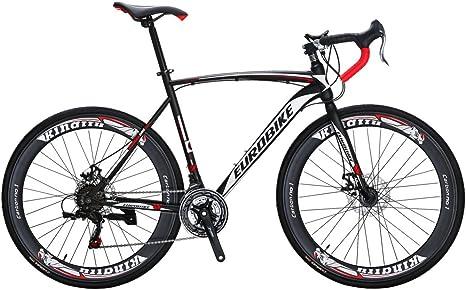 Eurobike Bicicleta de carretera XC550 21 velocidades 49 cm / 54 cm ...