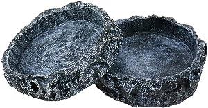 Bitray Reptile Feeder Terraium Bowl