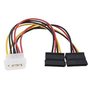 Amazon TOOGOOR 2 Port SATA Splitter Power Cable X 15 Pin