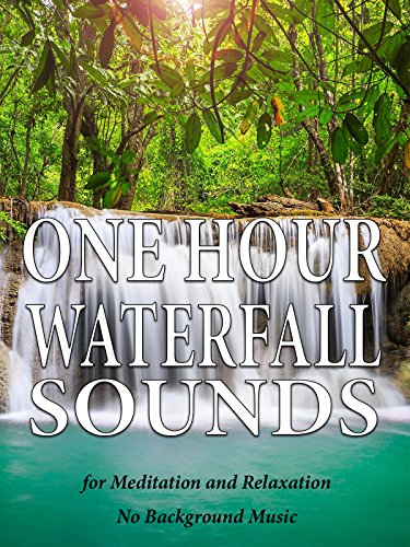 One Hour Waterfall Sounds for Meditation and Relaxation - No Background Music