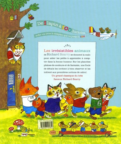 Le grand livre à compter de 1 à 100 - French language version of Best Counting Book Ever (French Edition) by French and European Publications Inc