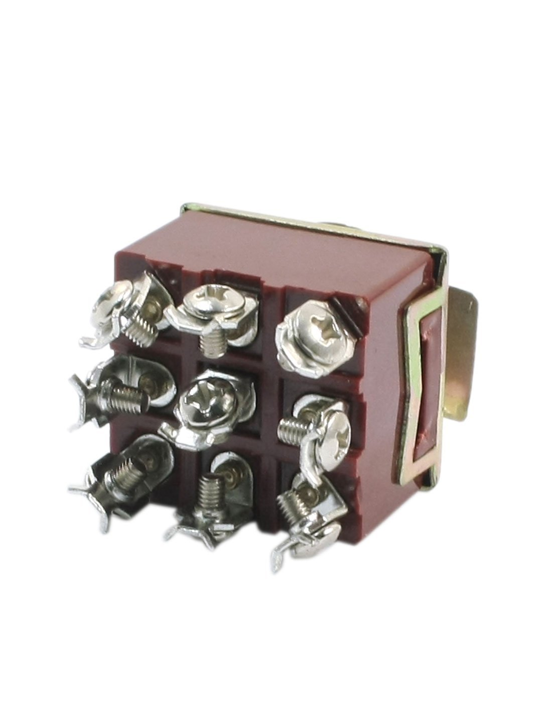 DealMux a14060600ux0721 3PDT 3 Position 9 Screw Terminals Toggle Switch AC380V 10A E-TEN303