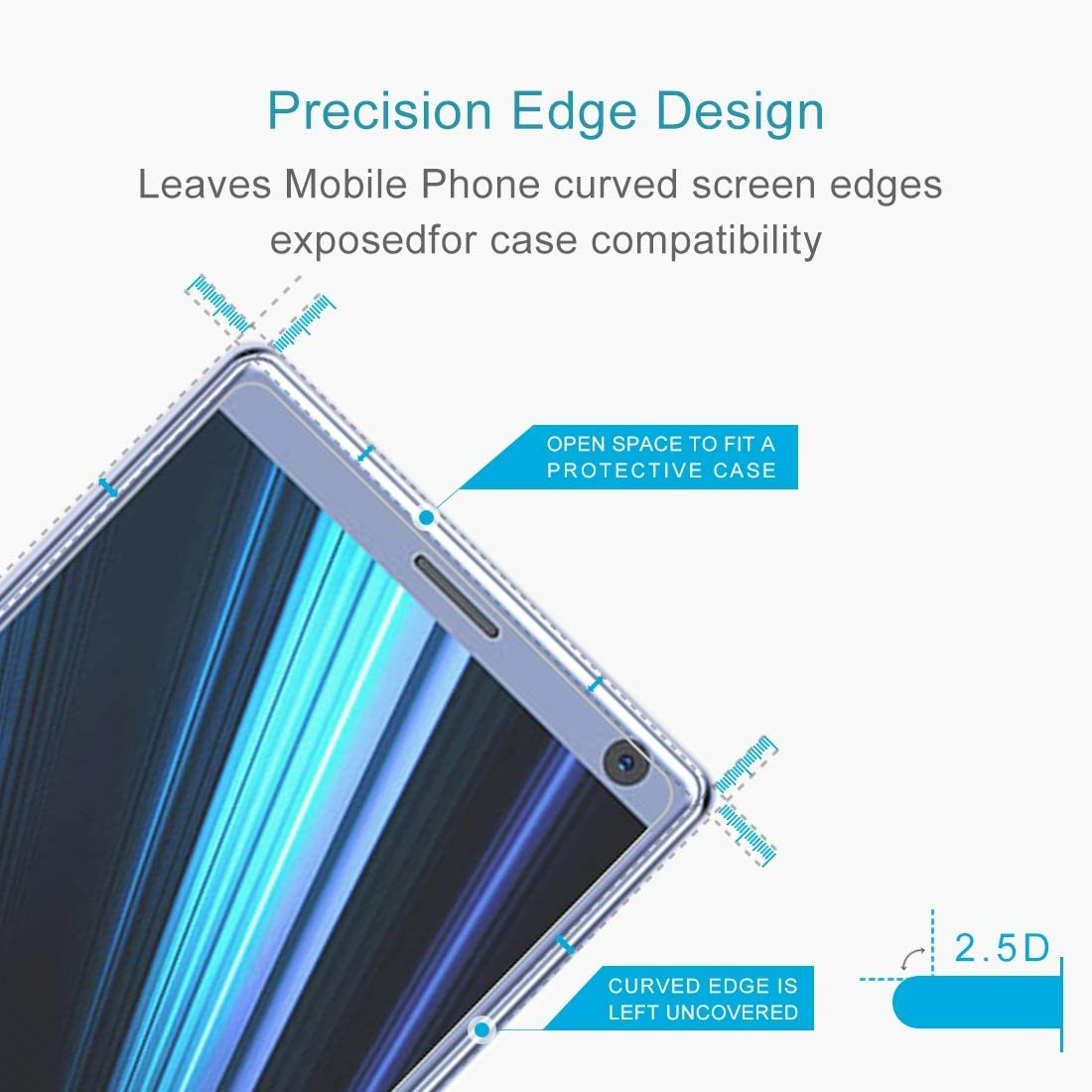 // J120 0.26mm 9H Surface Hardness 2.5D Explosion-Proof Tempered Glass Screen Film Anti-Scratch Screen Protector 2016 Premium Tempered Glass Screen Film 100 PCS for Galaxy J1