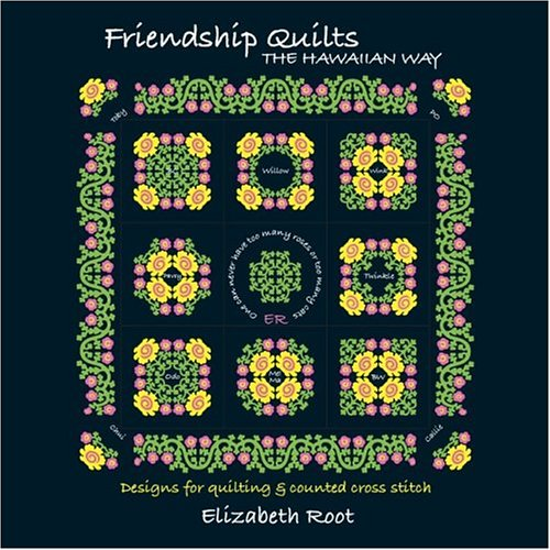 Friendship Quilts... The Hawaiian - Hawaiian Cross Stitch