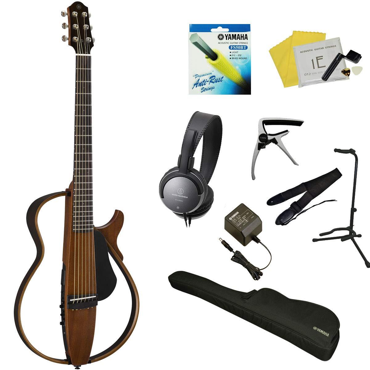 【スタート12点セット!!】 YAMAHA / SLG200S NT ヤマハ サイレントギター アコースティックギター スチール弦仕様   B07KN9X87G