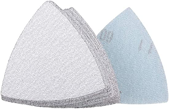 uxcell Triangle Detail Sander Sandpaper Hook and Loop 3-1//2 Inch Silicon Carbide Sanding Pad 10000 Grit 3 Pcs