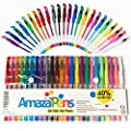 Gel Pens for Adult Coloring Books - 40% More Ink, Assorted Colors for All Arts and Crafts