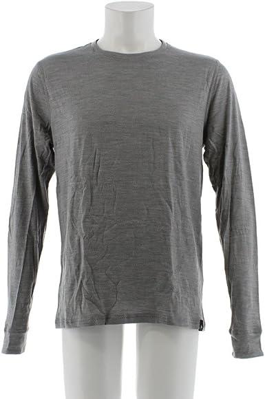 Odlo Bl Top Crew Neck L//S Natural 100/% Merino Warm Camiseta Mujer