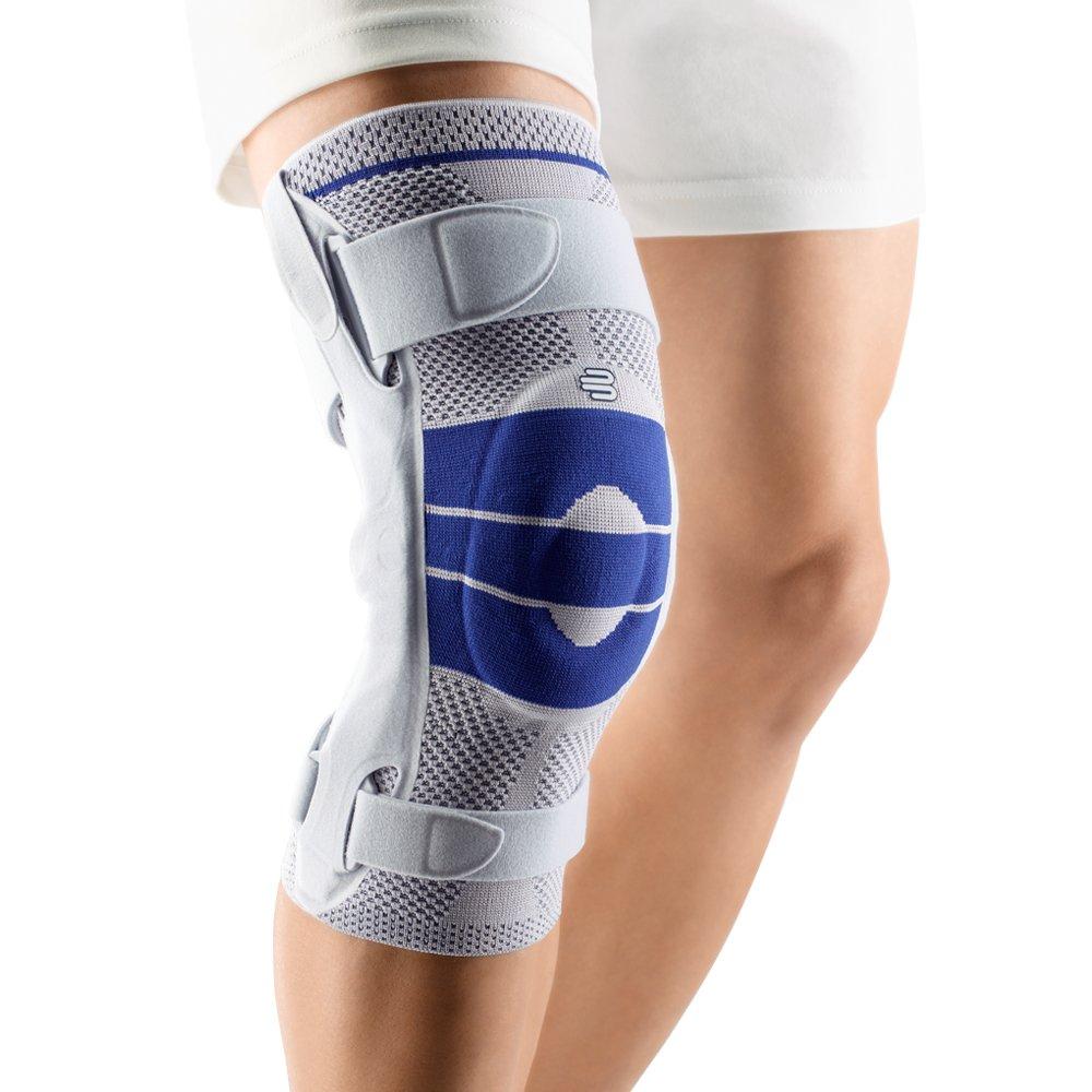 Bauerfeind GenuTrain Right S Knee Support (Titanium, 3) by Bauerfeind