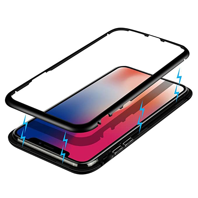 sports shoes 4277e 6342b Amazon.com: iPhone X Case, HONTECH Ultra Slim Magnetic Adsorption ...