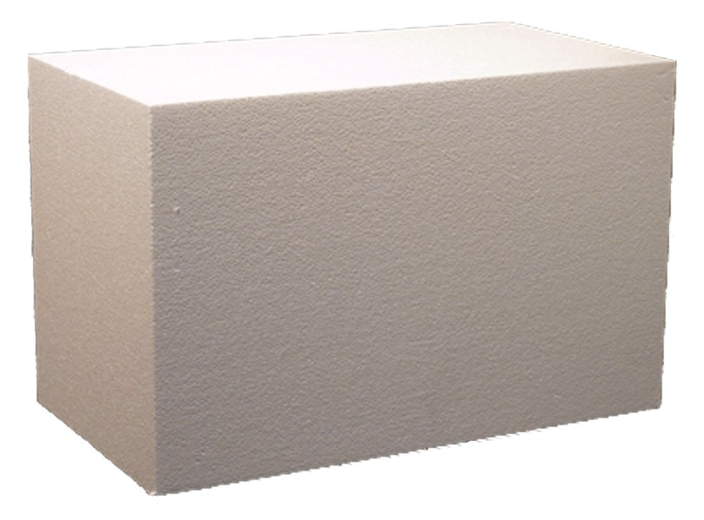 Hot Wire Foam Factory 036B Construction Foam Block, 12 x 14 x 22 12 x 14 x 22