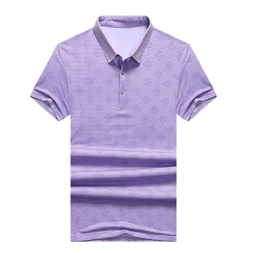 Graysky Mens Summer Solid Color Mesh T-Shirt Casual Loose Fit Breathable Sports Short Sleeve Shirt Tops